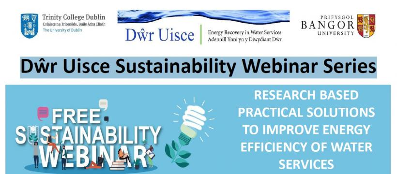 Dŵr Uisce Sustainability Webinar Series
